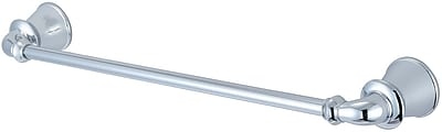 Pioneer Del Mar 18'' Wall Mounted Towel Bar; Polished Chrome