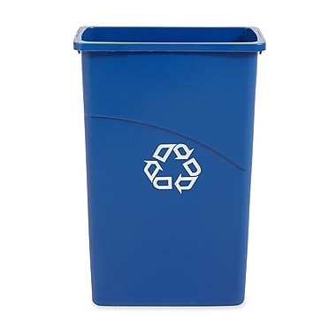 Rubbermaid® Slim Jim Recycling Container, 23 gal.