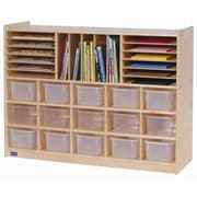 Steffy 32 Compartment Cubby w/ Casters
