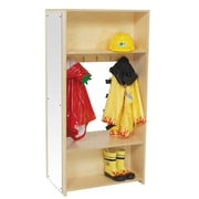 Wood Designs 3 Tier 1 Wide Coat Locker
