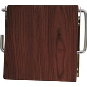 Evideco Wall Mounted Toilet Tissue Roll Dispenser; Wenge