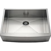 Alpha International 27'' x 21.63'' Farmhouse/Apron Kitchen Sink