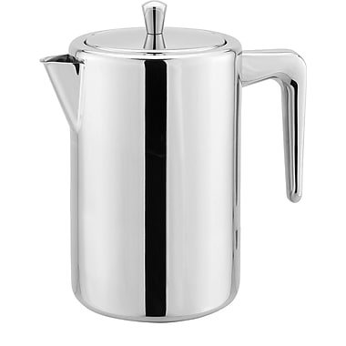 Cuisinox Double Wall French Press Coffee Maker; 1 L