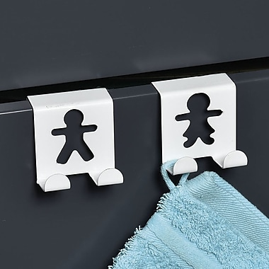 Evideco 2 Piece Over-Closet-Door Hook Set