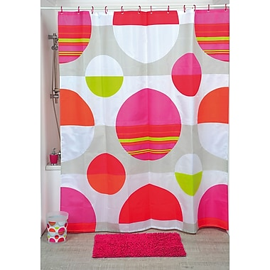 Evideco Eclats Printed Shower Curtain