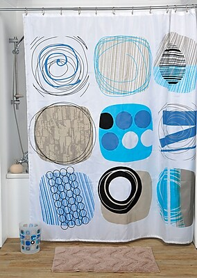 Evideco Street Art Printed Shower Curtain