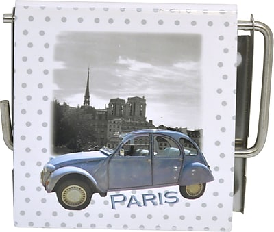 Evideco Paris Romance Wall Mounted Printed Toilet Paper Holder