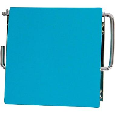 Evideco Wall Mounted Toilet Tissue Roll Dispenser; Blue aqua
