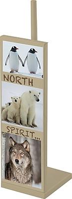 Evideco North Spirit Freestanding Toilet Tissue Roll Storage Holder