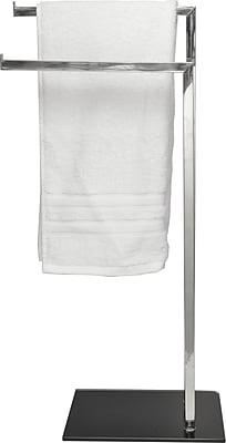 Evideco 2 Arm Free Standing Towel Stand