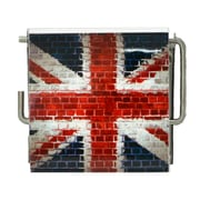 Evideco Union Jack Printed Wall Mounted Toilet Paper Holder