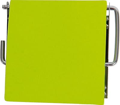 Evideco Wall Mounted Toilet Tissue Roll Dispenser; Lime Green