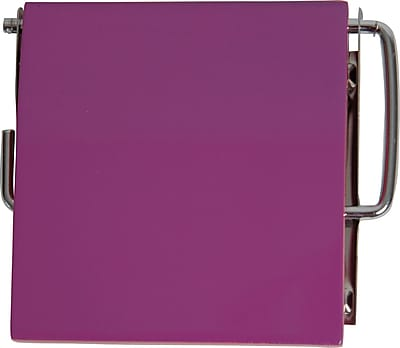 Evideco Wall Mounted Toilet Tissue Roll Dispenser; Purple