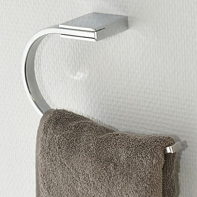Evideco Wall Mounted Round-Shaped Towel Ring