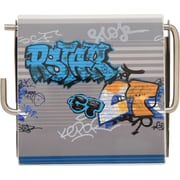 Evideco Graffiti Wall Mounted Printed Toilet Tissue Roll Holder