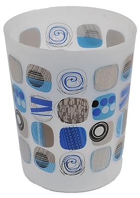 Evideco Street Art 1.2 Gallon Waste Basket
