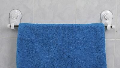 Evideco Suction Wall Mounted Towel Bar WYF078278404992