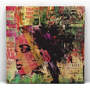 RedNoir Jungle Framed Graphic Art on Wrapped Canvas