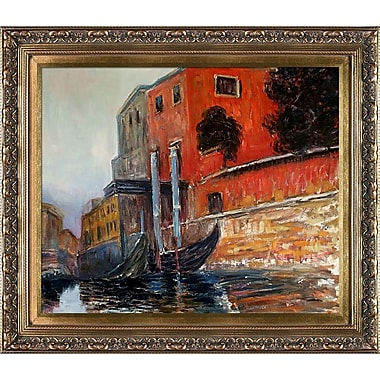 Tori Home The Red House by Claude Monet Framed Painting Print