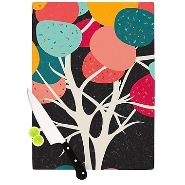 KESS InHouse Lovely Tree by Danny Ivan Branches Cutting Board; 0.5'' H x 11'' W x 7.5'' D