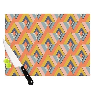 KESS InHouse So Cool by Akwaflorell Cutting Board; 0.5'' H x 11'' W x 7.5'' D