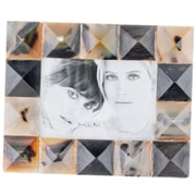 Modern Day Accents Granito Mosaic Horn Picture Frame