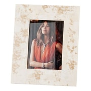 Modern Day Accents Huseo Blanco Bone Picture Frame