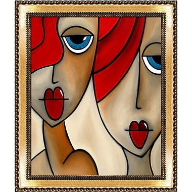 Tori Home 'And She Was' by Tom Fedro Framed Print Painting