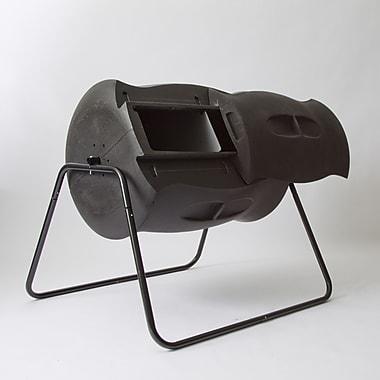 Algreen 55 Gal. Tumbler Composter; Black
