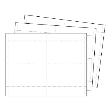 Kostklip® Perforated Sign and Label Paper, 3