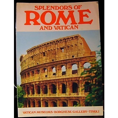 Splendors of Rome and Vatican, Used Book (9788887824032)