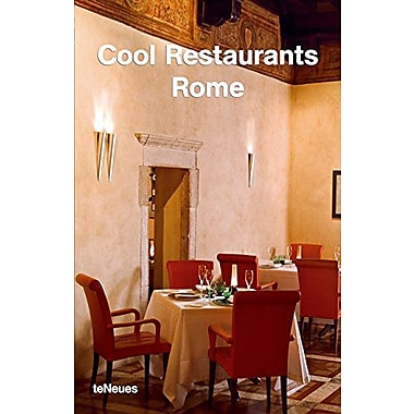Cool Restaurants Rome, New Book (9783832790288)