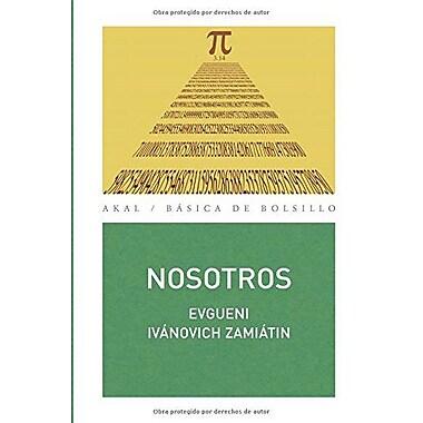 Nosotros (Basica De Bolsillo / Pocket Basic) (Spanish Edition), New Book (9788446026723)