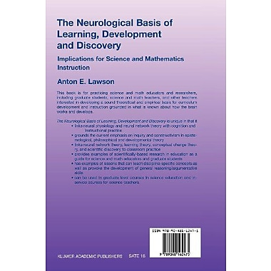The Neurological Basis of Learning, Development and Discovery: Implications for Science and Mathemati, Used Book (9789048162475)