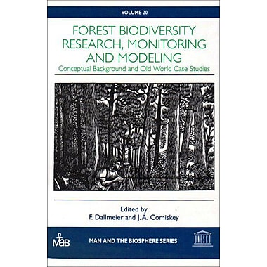 Forest Biodiversity in Europe, Australasia and Africa Research, Monitoring (Man and the Biosphere, 20) (9789231034084)