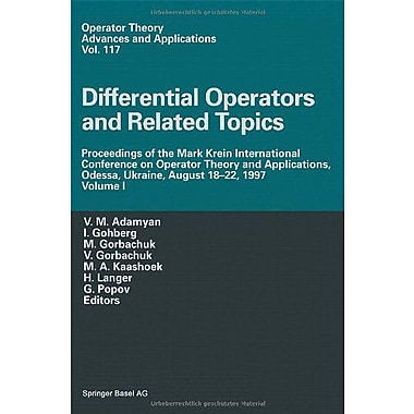 Differential Operators and Related Topics: Proceedings of the Mark Krein International Conference on , Used Book (9783764362874)