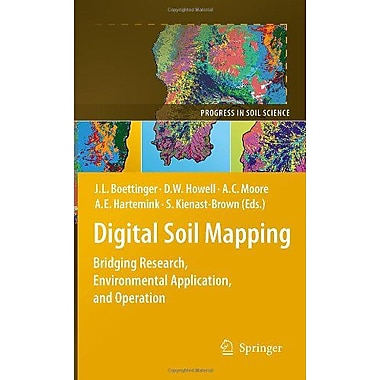 Digital Soil Mapping: Bridging Research, Environmental Application, and Operation(Progress in Soil Science) (9789048188628)
