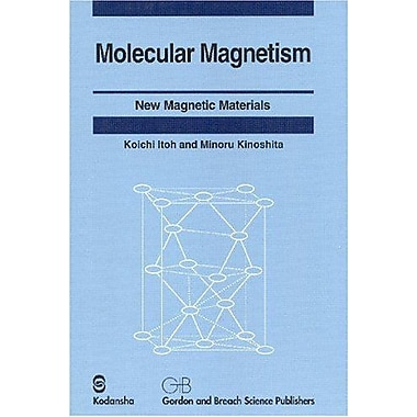 Molecular Magnetism: New Magnetic Materials, Used Book (9789056993078)