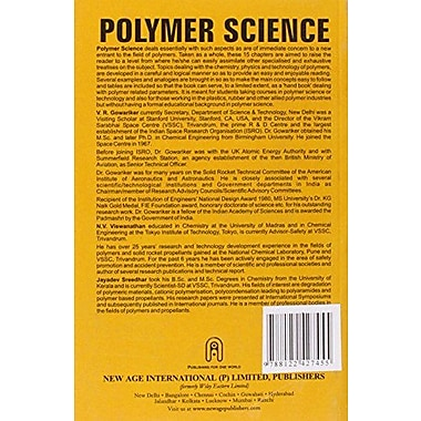 Polymer Science, Used Book (9788122427455)