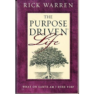 The Purpose Driven Life: What on Earth Am I Here For?, New Book (9780310210740)
