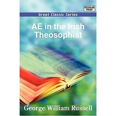 AE in the Irish Theosophist, Used Book (9788132026013)