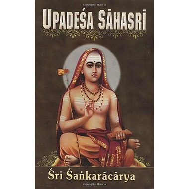 Upadesa Sahasri: A Thousand Teachings, New Book (9788171200597)