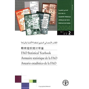 FAO Statistical Yearbook 2004 (9789250053981)