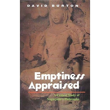 Emptiness Appraised: A Critical Study of Nagarjuna's Philosophy, Used Book (9788120818149)