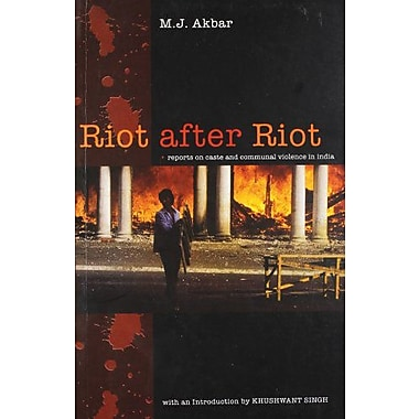 Riot After Riot: Reports on Caste and Communal Violence in India, Used Book (9788174362827)