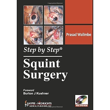 Step by Step Squint Surgery, New Book (9789350251966)