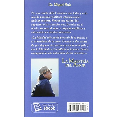 La Maestria Del Amor (Spanish Edition), New Book (9788479534530)