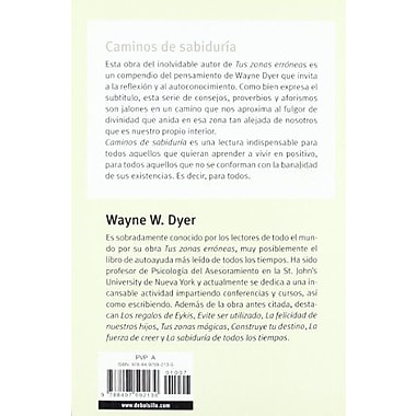 Caminos De Sabiduria (Autoayuda) (Spanish Edition), New Book (9788497592130)