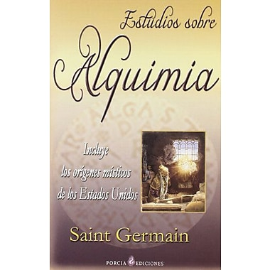 Estudios sobre alquimia/ Studies About Alchemy (Spanish Edition), New Book (9788495513762)