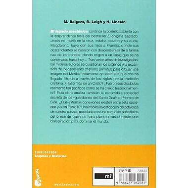 El Legado Mesianico: Hubo Mas de un Cristo? (Divulgacion Enigmas y Misterios) (Spanish Edition), Used Book (9788427032057)